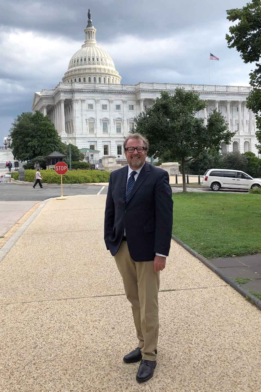 Eric May in Washington